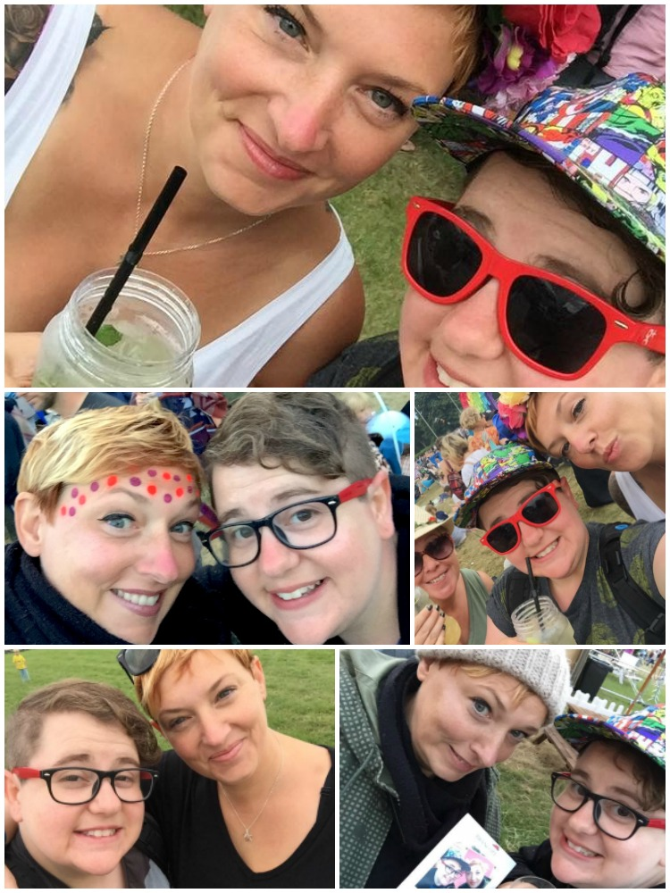 Best friends Camp Bestival 2016