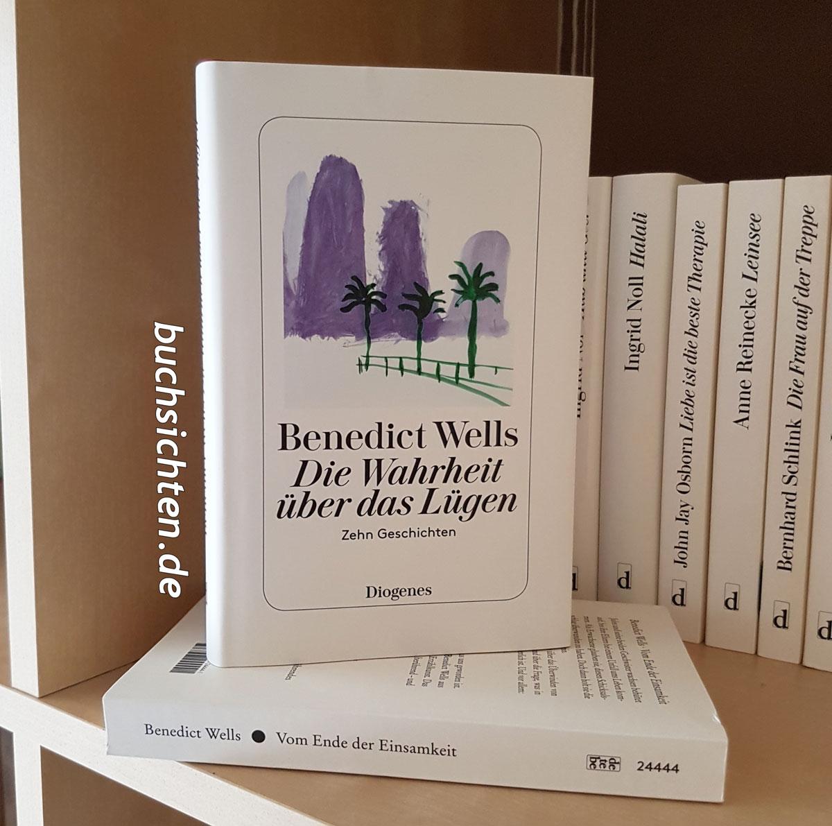 Buchsichten Rezension Die Wahrheit über Das Lügen Von Benedict Wells