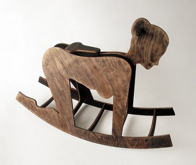 Above: An Adult Version Of The Rocking Horse By Peter Jakubik