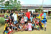 Gandeng Komunitas Trail, Wabup DMN Baksos di Kecamatan Langgudu