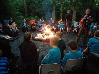 campfire meonwood campsite
