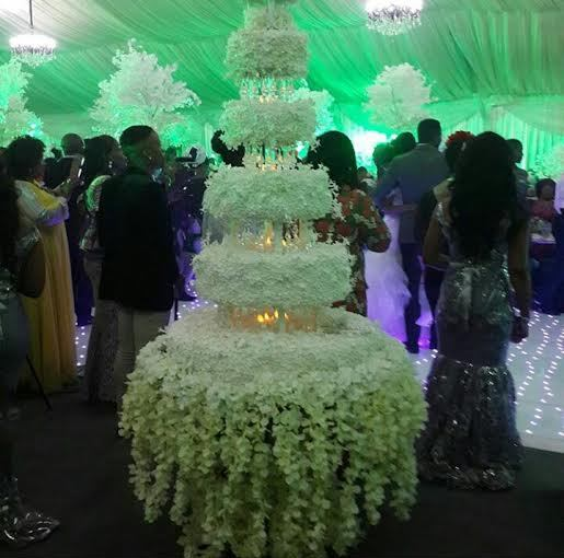 ebuka obi uchendu wedding cake
