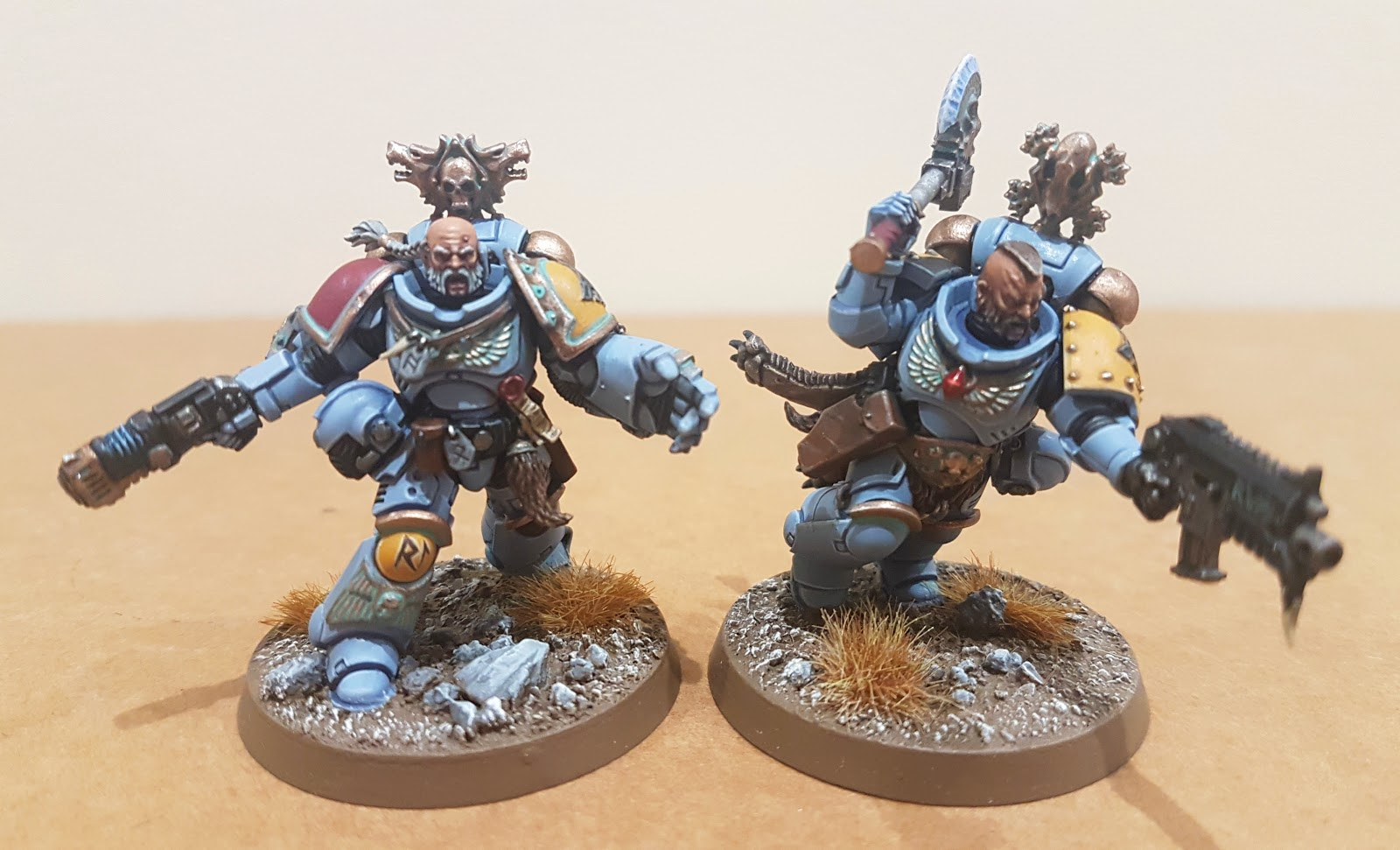 Wargamer 40k Craziness: Workbench Progress - Primaris Space