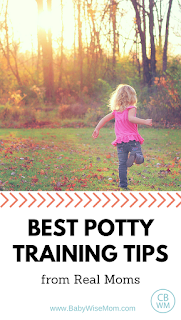 Best Potty Training Tips from Real Moms | Potty training | #pottytraining