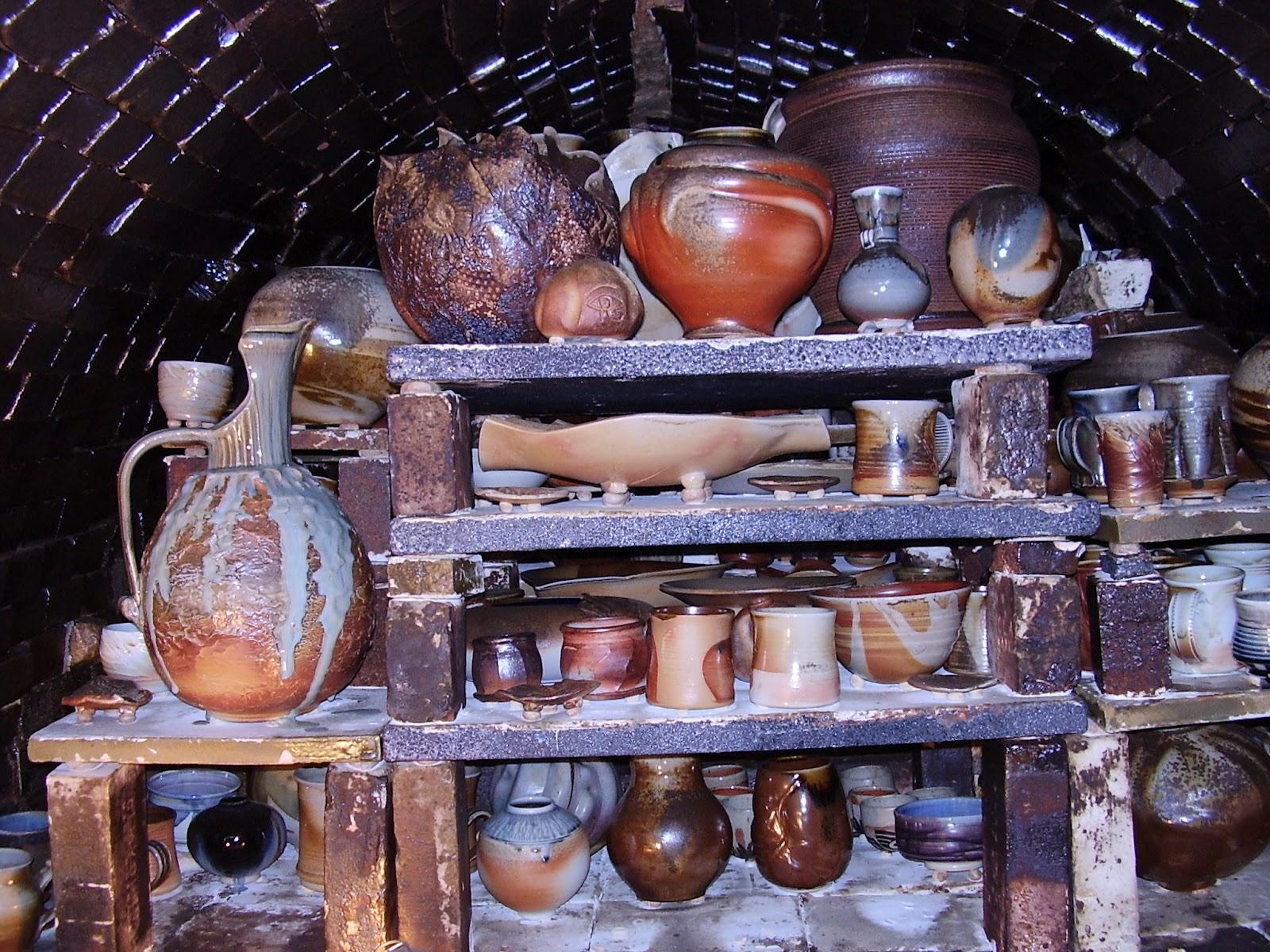 Denman Island Pottery Tour 2012 Anagama Kiln
