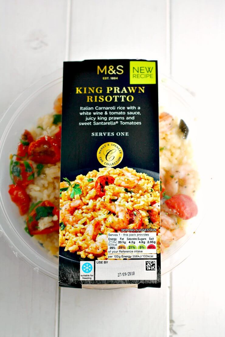 M&S King Prawn Risotto