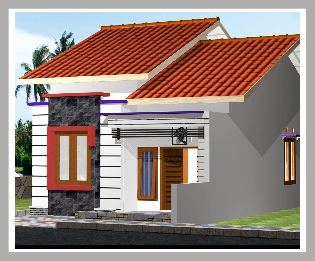 Gambar Desain  Rumah  Minimalis  Sederhana  Wallpaper Dinding
