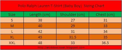 Babygap Pyjamas Sizing Chart
