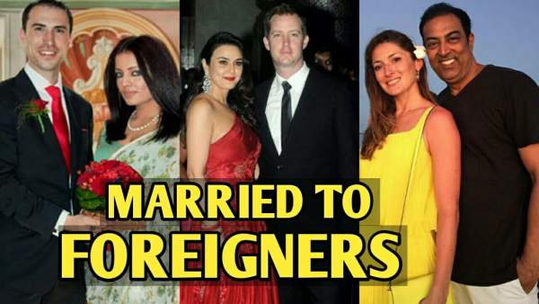 actress married to forigners