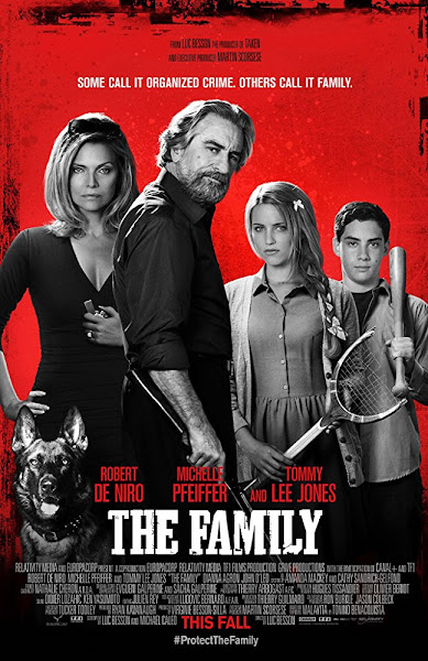 Poster of The Family (2013) Dual Audio [Hindi-DD2.0] 1080p BluRay ESubs Download
