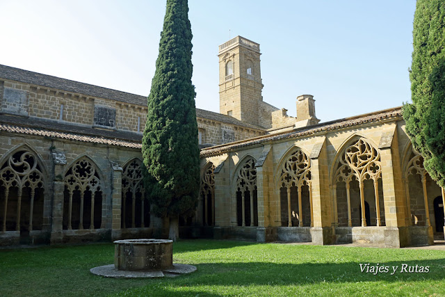 Claustro del Monasterio de la Oliva, Navarra