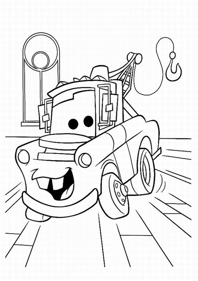 coloring pages from car movie | Learn To Coloring : April 2011