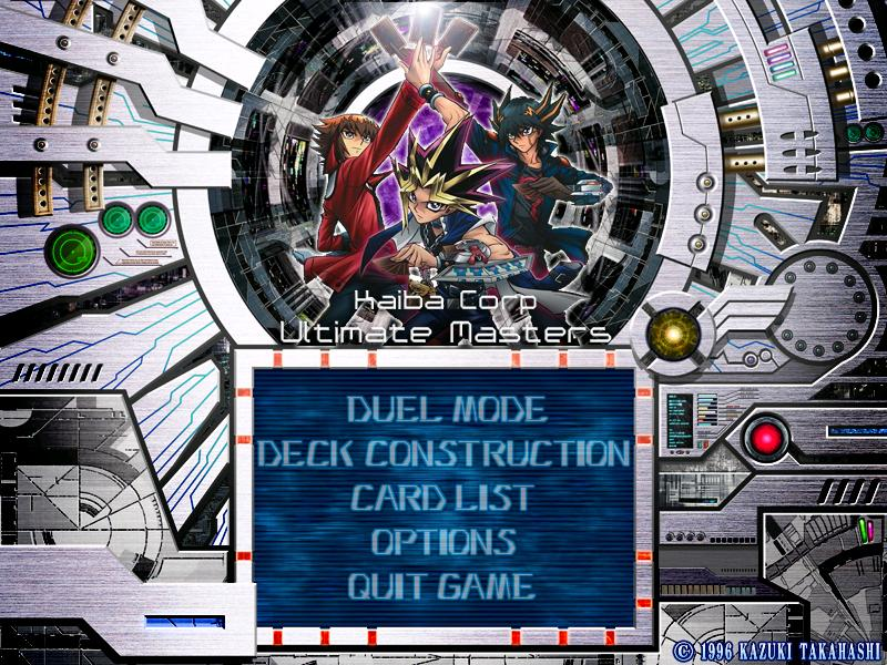 YugiOh Kaiba Corp Ultimate Masters MOD 2014 PC Game