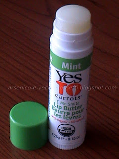 Yes to Carrots C-Me Smile Lip Butter Mint