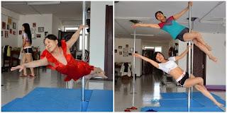Di Usia 65 Tahun Nenek Ini Masih Lincah Bermain Pole Dancer