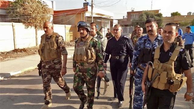 Iraqi forces advance against Takfiri Daesh terrorist group in Kirkuk, Nineveh