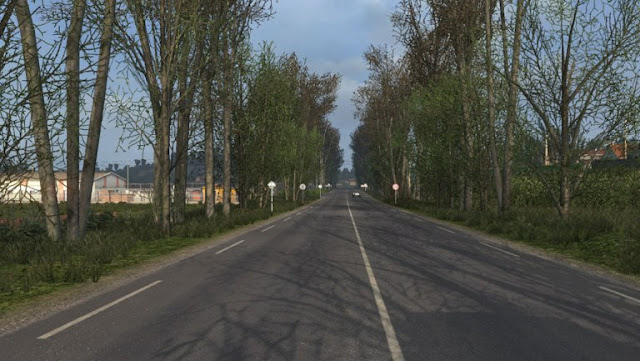 ets 2 late autumn/early winter mod v3.2 screenshot 1