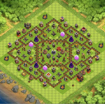 Game COC TH 10