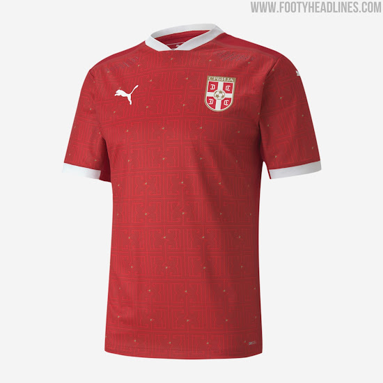 Puma Serbia 2020 Home & Away Kits Released - Footy Headlines