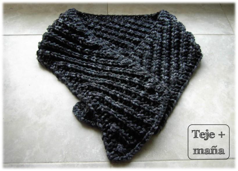 Teje + maña: 10 bufandas para papa