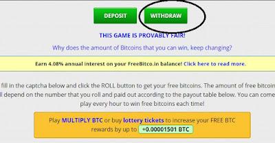 retirar bitcoins