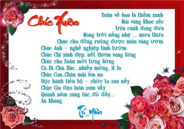 Chúc Mừng Năm Mới 2chxuan