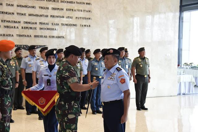 Marsda TNI Kukuh Sudibyanto Jabat Aslog Panglima TNI