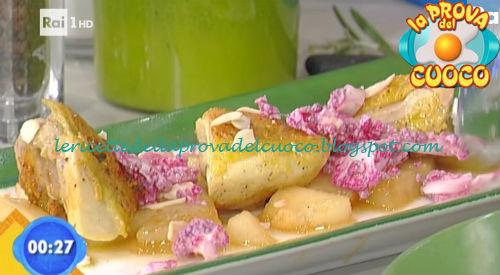 Insalata di pollo e melone con cavolfiore viola ricetta Gandola da Prova del Cuoco