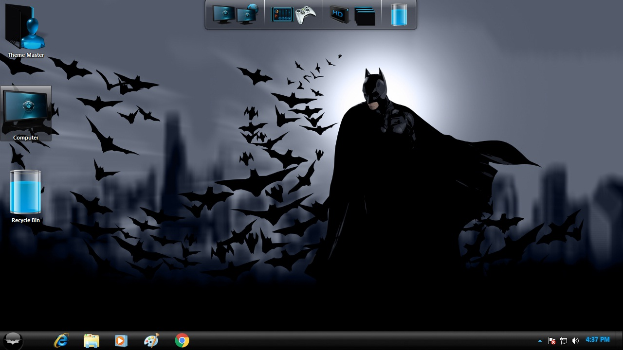 Batman Transformation Pack for Windows 7 / 8 / 8.1 / 10