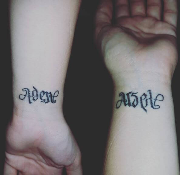 Ambigram Tattoo?s