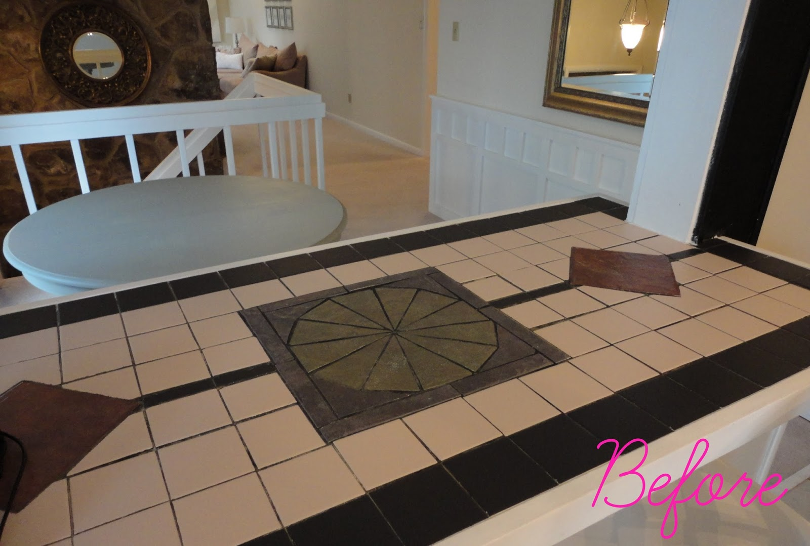 Remarkable Livelovediy How To Paint Tile Countertops Interior Design Ideas Grebswwsoteloinfo