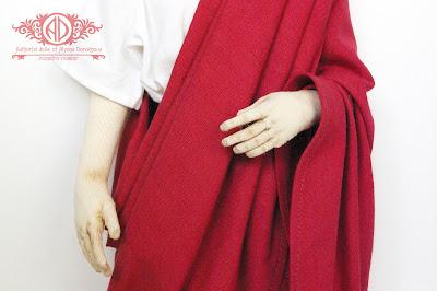 ADdoll_Filosof_5 Античный философ авторская текстильная кукла Алёны Дороховой