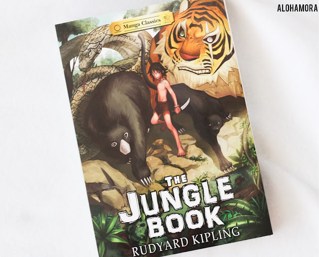 The Jungle Book by Rudyard Kipling in Manga format adapted by Crystan Chan.  This manga/graphic novel version of this classic literature book is a great choice for reluctant readers, kids with a low reading level, and those that have reading challenges/learning disabilities but need to read the book for school or English class. reading. Classic, high school. assignment, required. Reading this book faster and easier with a graphic novel/manga format. Fast read. Quick read. Easy. Alohamoraopenabook Alohamora Open a Book http://alohamoraopenabook.blogspot.com/