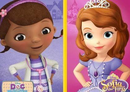 Canottiera ragazza Disney Princess Sofia Or Disney Doc Mcstuffins