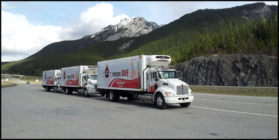Canadian Blood Services Kenworth T370