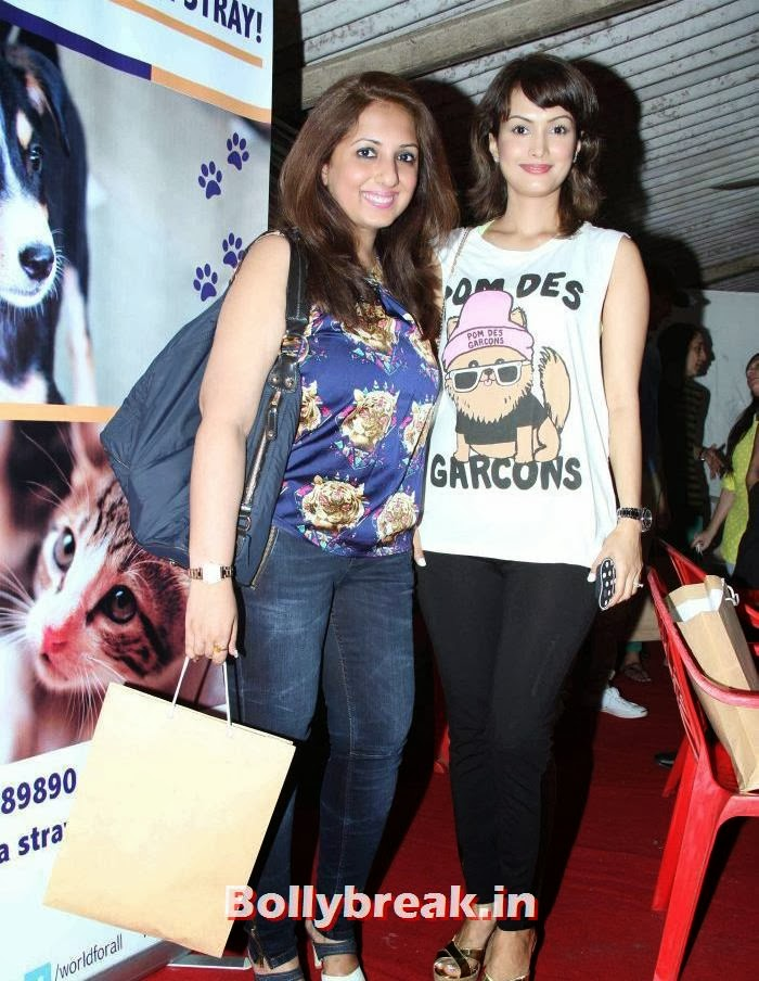 Munisha Khatwani, Nisha Rawal, Sonali Bendre, Kalki Koechlin at Pet Adoption 2013