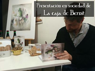 Presentación, La caja de Bernit, Pablo Ferradas, Literatura, fantasía, juvenil