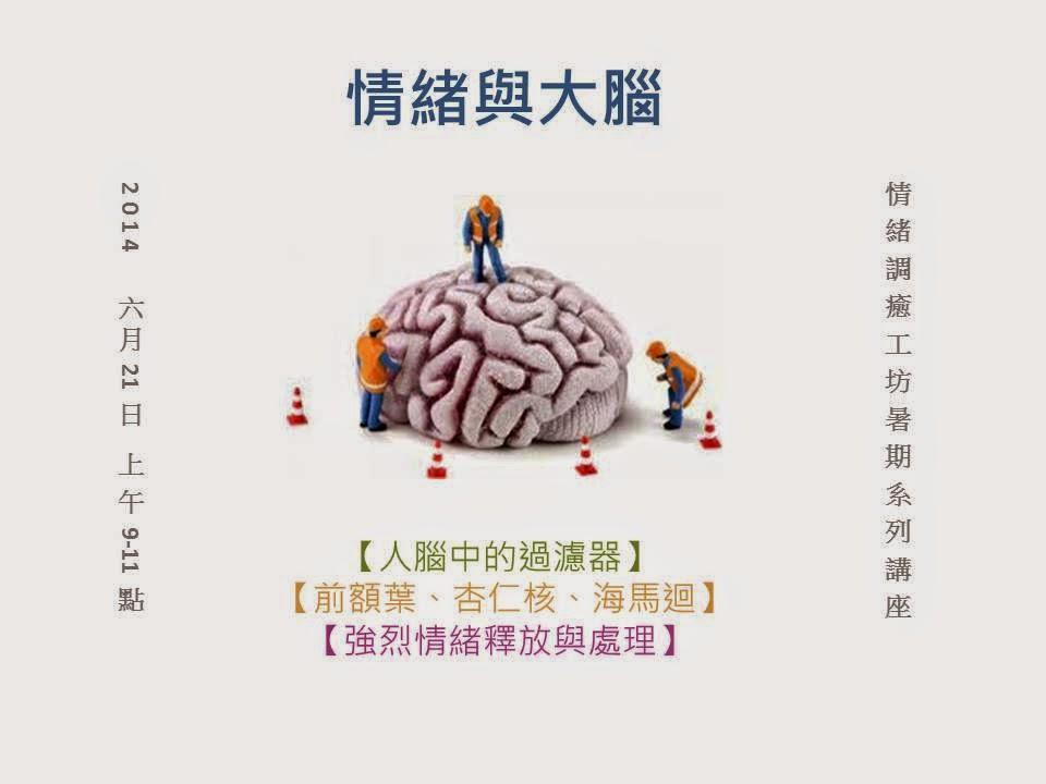 情緒調癒工坊: 情緒與大腦