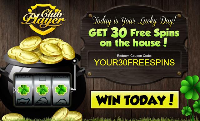 Club Player Casino 30 Free Spins Bonus