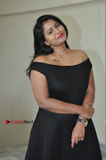 Telugu Actress Swathi Reddy Latest Stills in Black Gown  0027.JPG