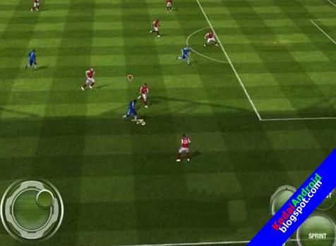 Pes 2012 pro evolution soccer pour android à télécharger.