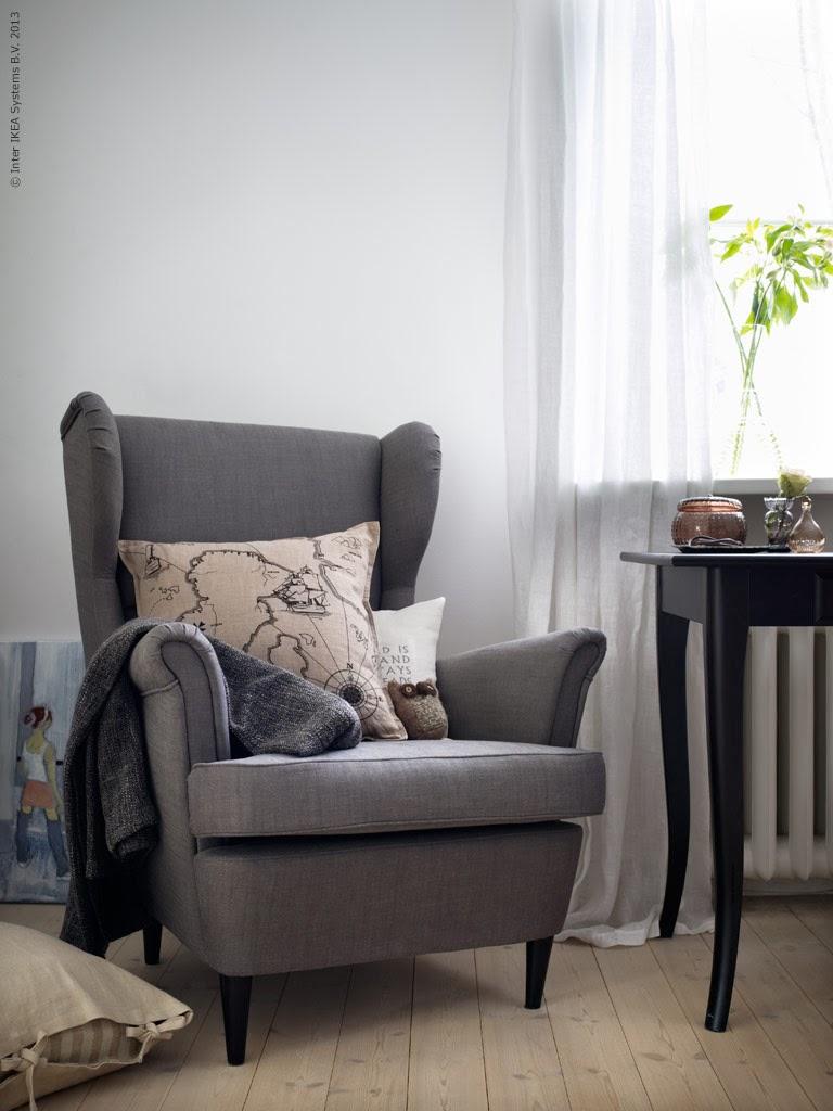 the orange deer la poltrona strandmon di ikea. Black Bedroom Furniture Sets. Home Design Ideas