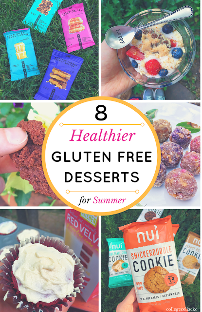 8 Healthier Gluten Free Dessert Ideas for Summer