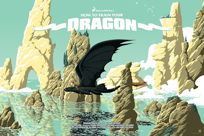How To Train Your Dragon Movie Poster Regular Edition Screen Print by Florey x Mad Duck Posters.jpg