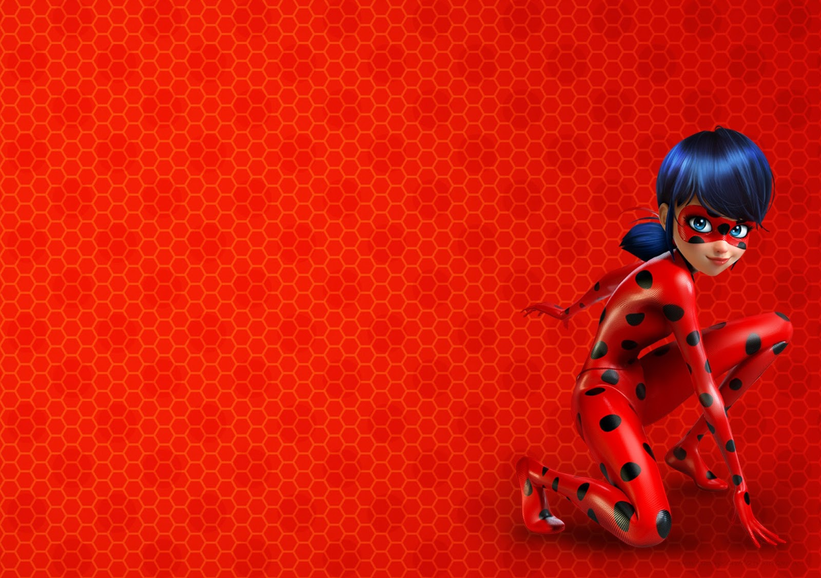 Miraculous Ladybug Free Printable Invitations