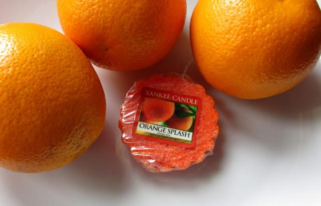Orange Splash Yankee Candle wosk