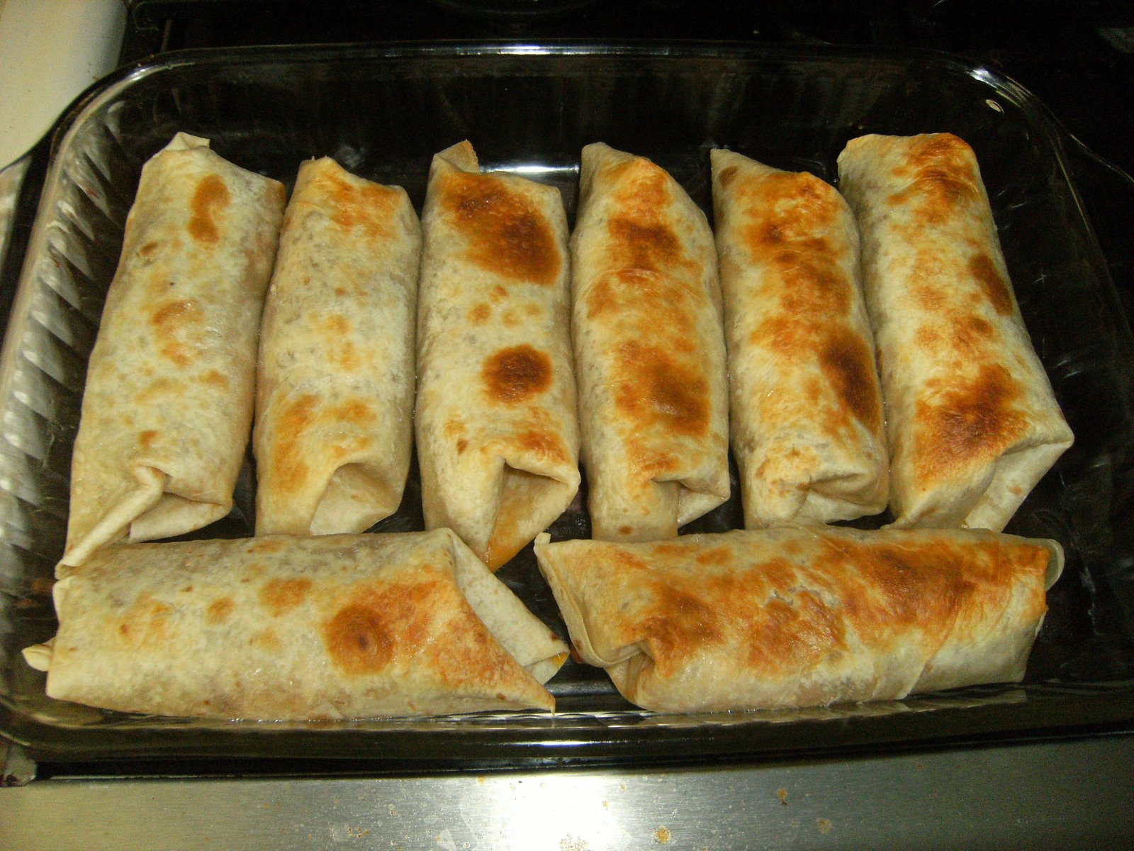 The Crew 365 Baked Burritos