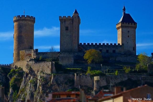 Castillo de los condes de Foix
