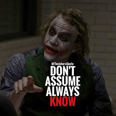 Top Joker  quotes