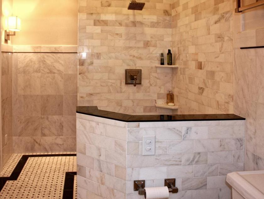 motif keramik dinding kamar mandi minimalis terbaru 2018 agar terlihat luas